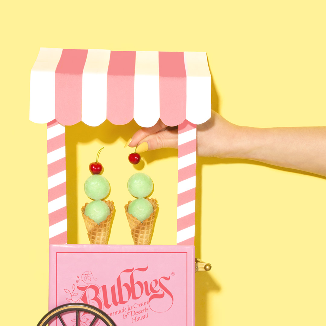 Bubbies Ice cream cart | Master of Content Creation, Amy Shamble, Creative Photographer  | The Content Designer Blog