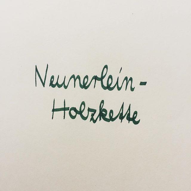 Neunerlein-Holzkette #yeahyukiyuki #holzkette #glücksbringer #handgemacht