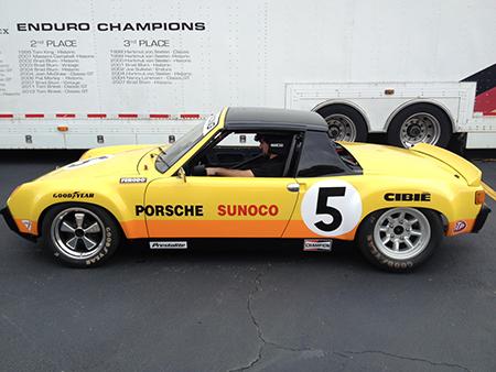 Porsche 914/6 GT with Minilites