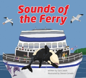 Sounds of the Ferry - Board a ferry to explore the sounds and sights of a sea voyage. Full of detail, with recurring characters and colourful marine life, this rhyming picture book takes children on an entertaining ferry ride. Sounds of the Ferry was nominated for the 2012/13 Chocolate Lily Book Award.Purchase Sounds of the Ferry