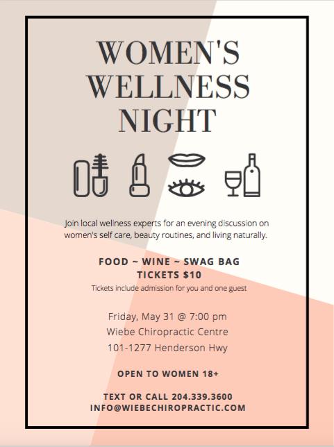 Women's Wellness Event at Wiebe Chiropractic