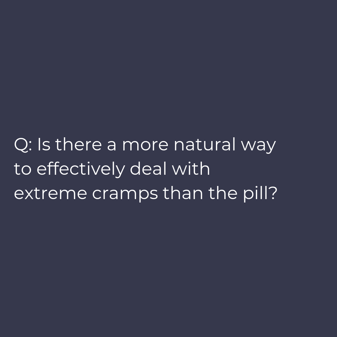 Cramping during your period (dysmenorrhea) - painful periods, cramping, menstrual pain