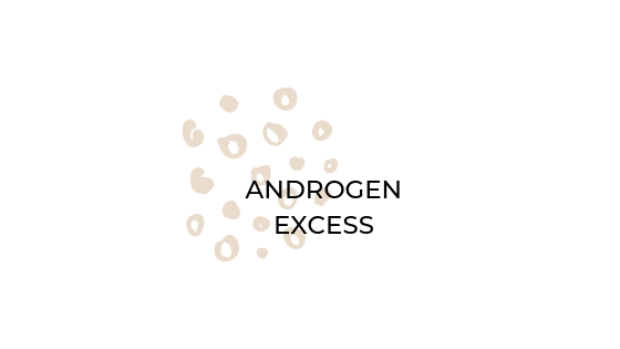 Androgen Excess - acne vulgaris, hirsutism (hair growth) and androgenic alopecia (hair loss)