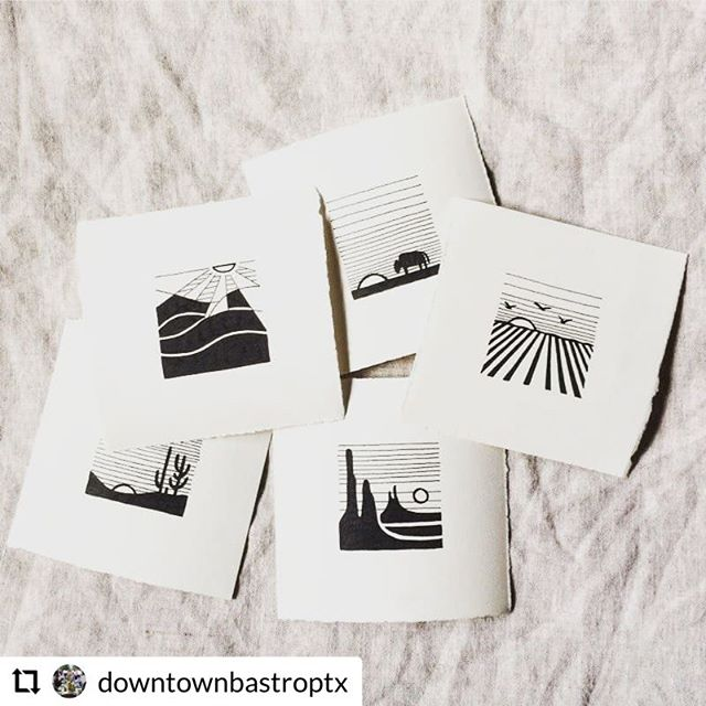 One of our very own will be showcasing her landscape prints at @lostpinesab this Friday night during the @downtownbastroptx Art Walk! More details:  #RepostPlus @downtownbastroptx - - - - - - @lostpinesab is excited to host two amazing artists again for First Friday Art Walk - Thankful. @failjewelry was an instant classic at the store, and founder and artist Christine Fail will be featuring extended pieces from her collection during First Friday. Lost Pines Art Bazaar is also excited to be hosting #localartist and illustrator, Katie Allcorn of @snakeoilstudio who will debut her new landscape art prints. As if their gorgeous artistry is not motivation enough, every $100 worth of purchases from featured artists will be entered to win a $100 store gift certificate. Join us this Friday, November 2nd for First Friday in #DowntownBastrop