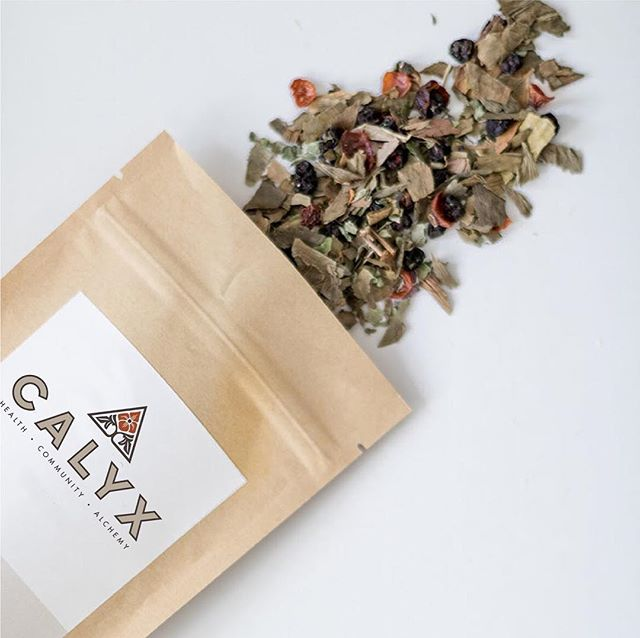 We're kicking off 2019 packaging up this logo design and brand strategy for @calyxaustin - an #austinbased #womenowned integrative health clinic and herb shop.