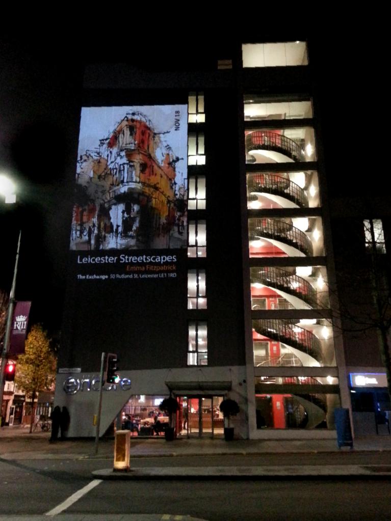 Cultural Quarter Projector