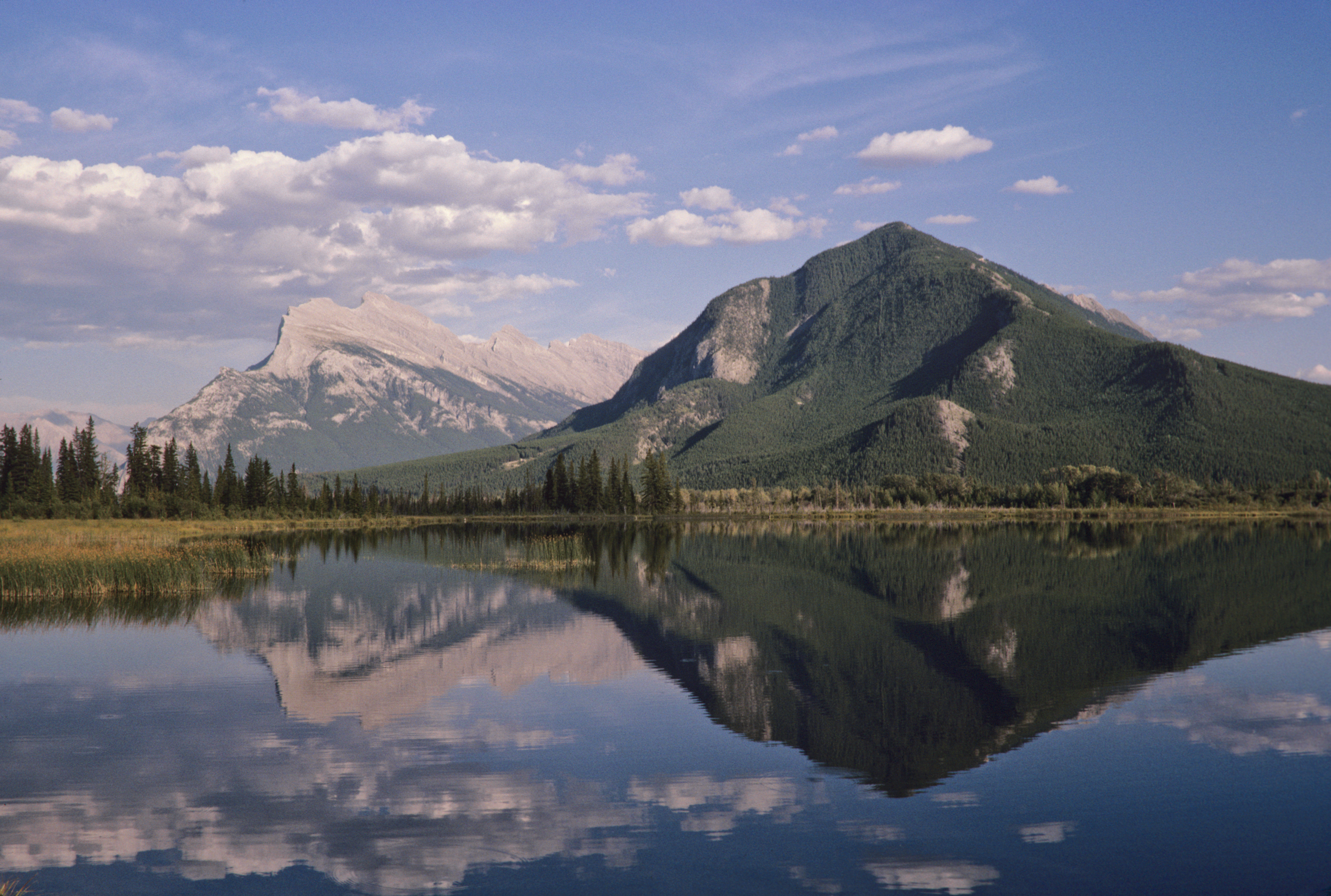 Mount Rundle & Sulpher Mountain Alberta, Canada -