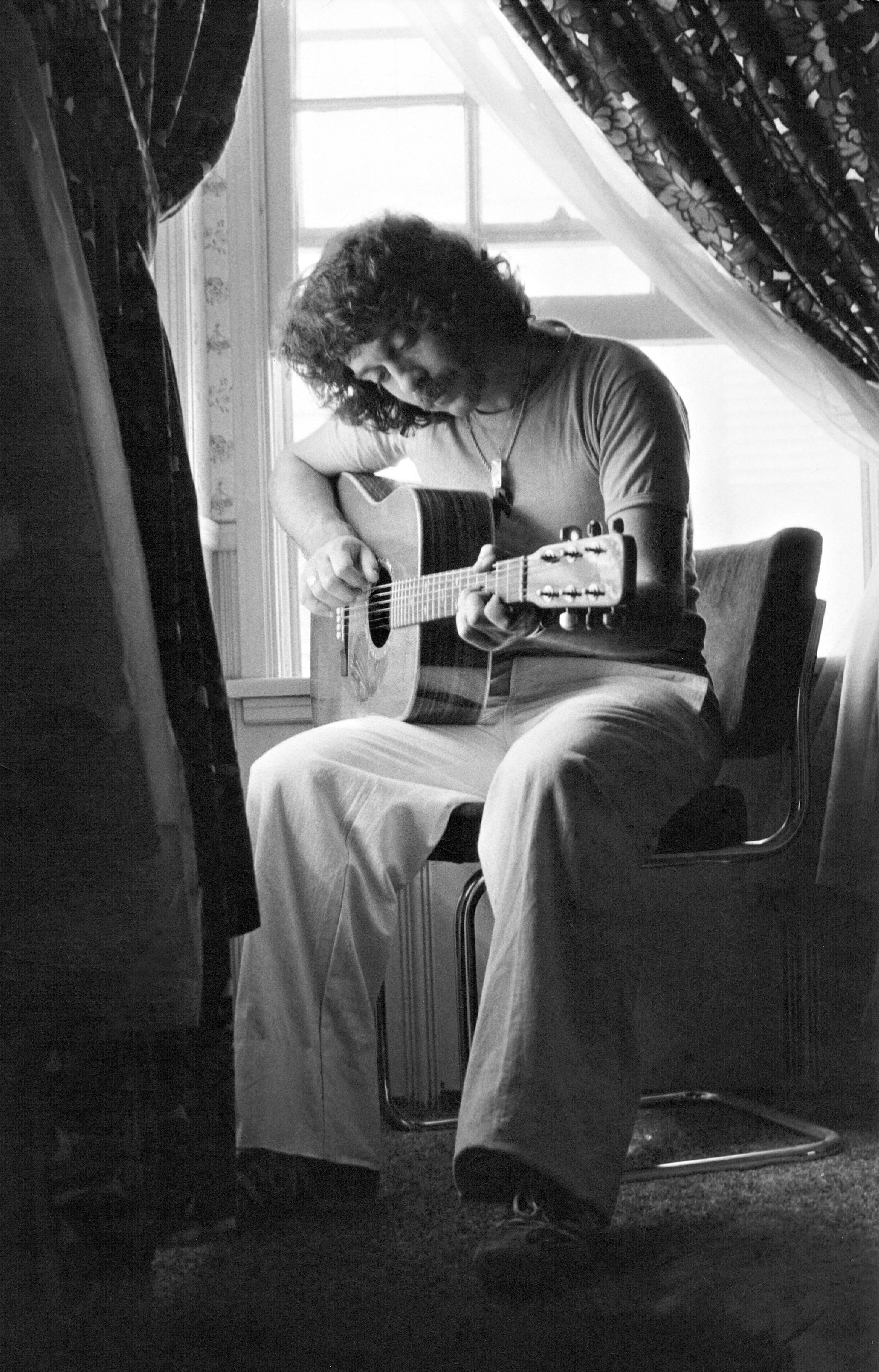 Scott with Guitar -