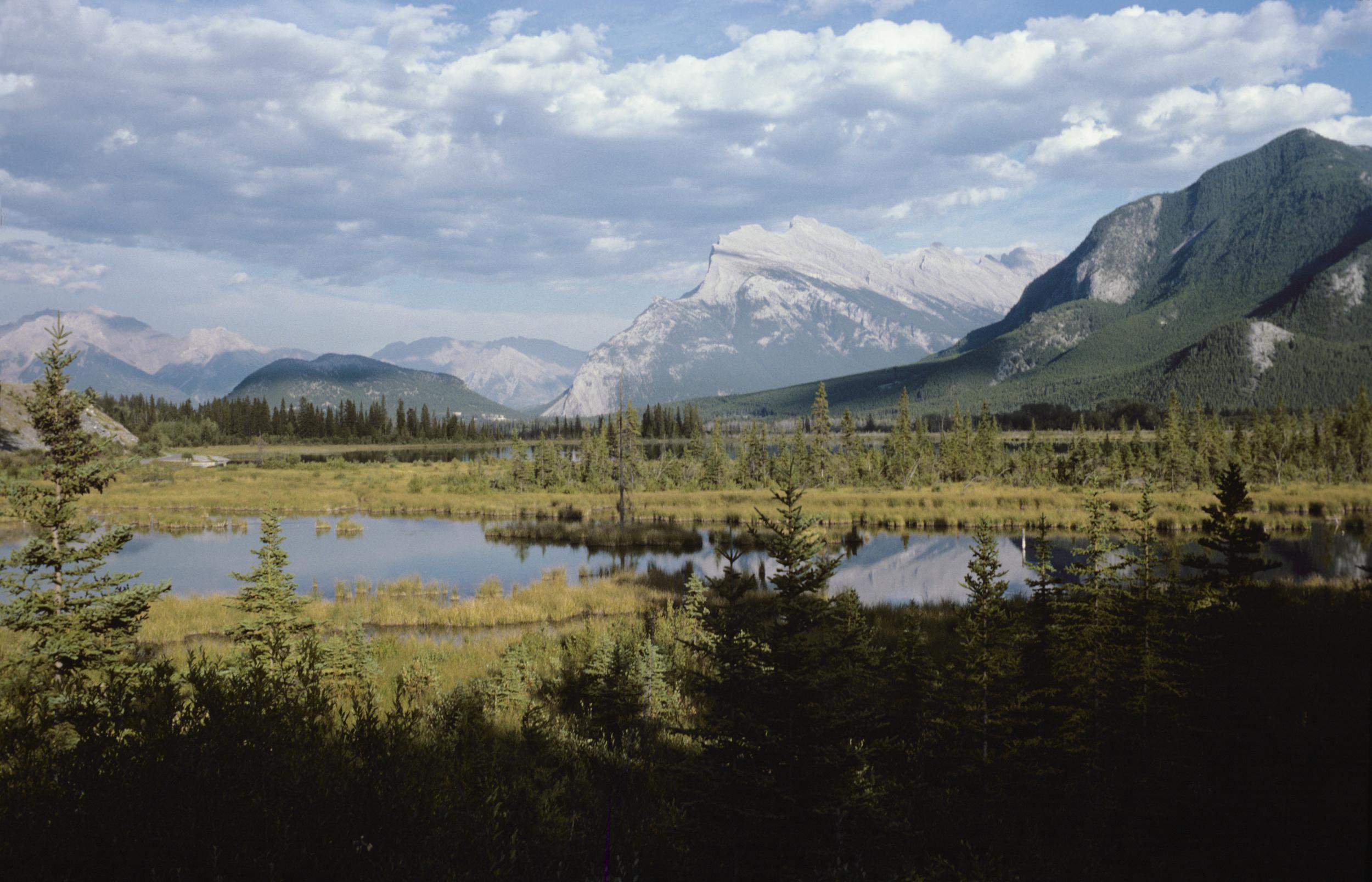 Mount Rundle, Alberta, Canada -