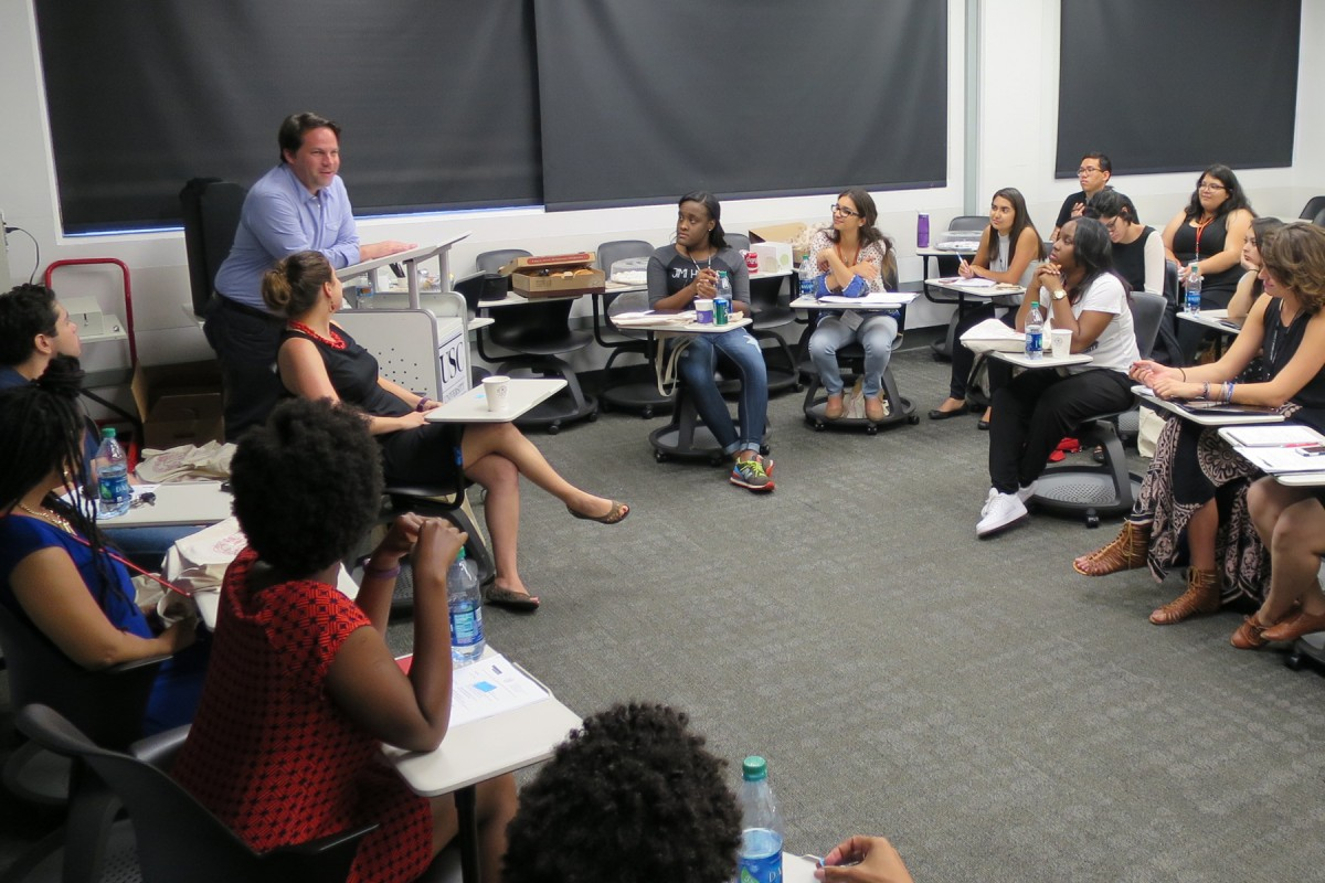 "Mentorship: ""Summer institute helps first-generation and minority students apply for PhD programs"""