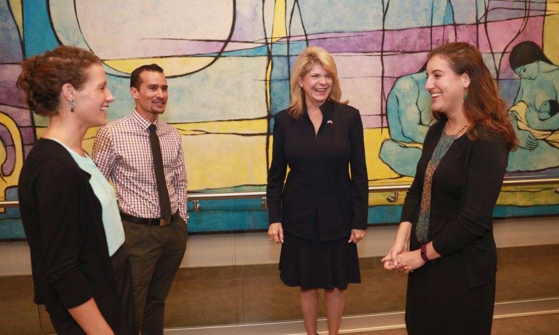 "News: ""Ambassador Sharon Day meets with U.S. Fulbright grantees in Costa Rica"""