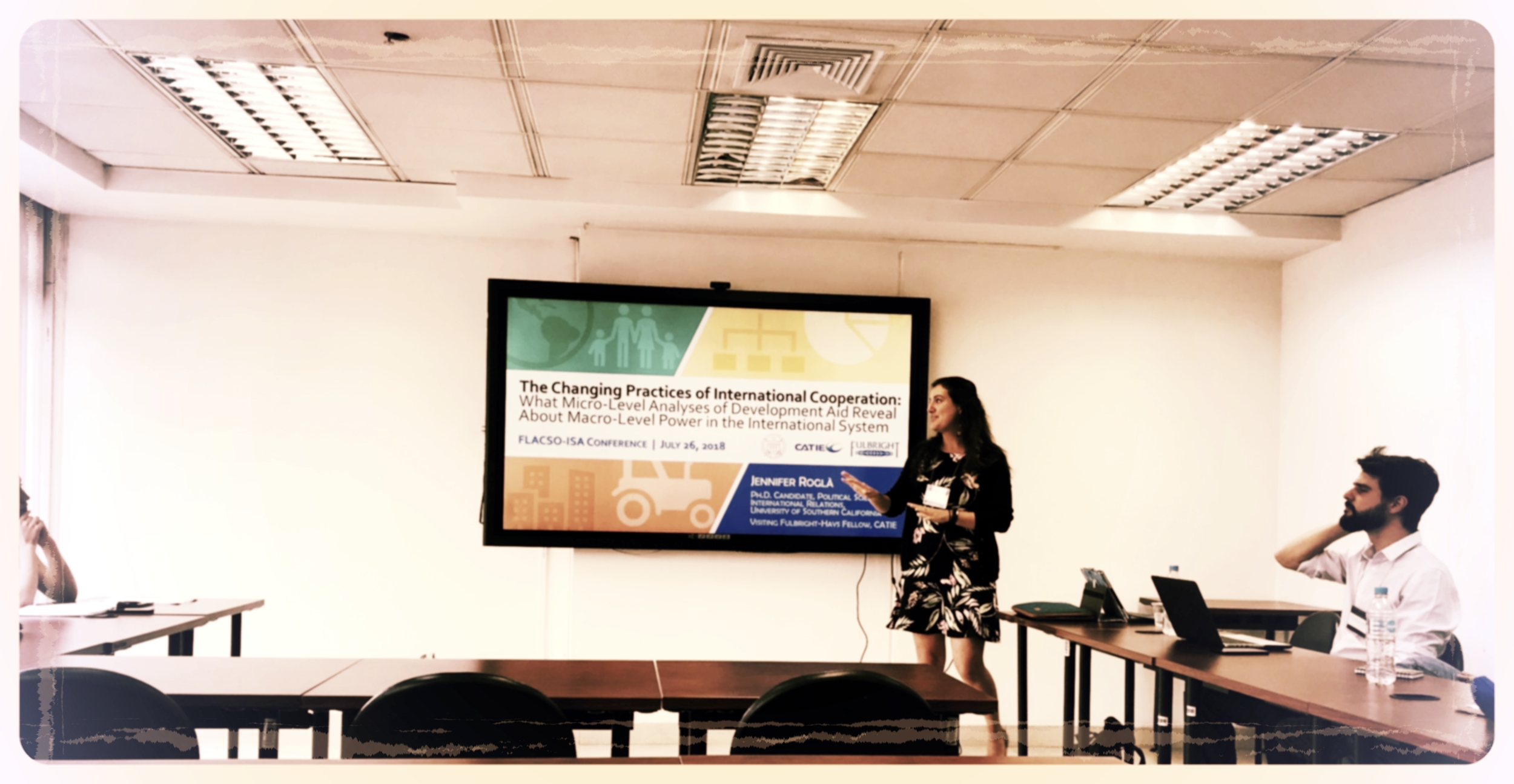 Speaking: Presentation at the ISA-FLACSO Conference