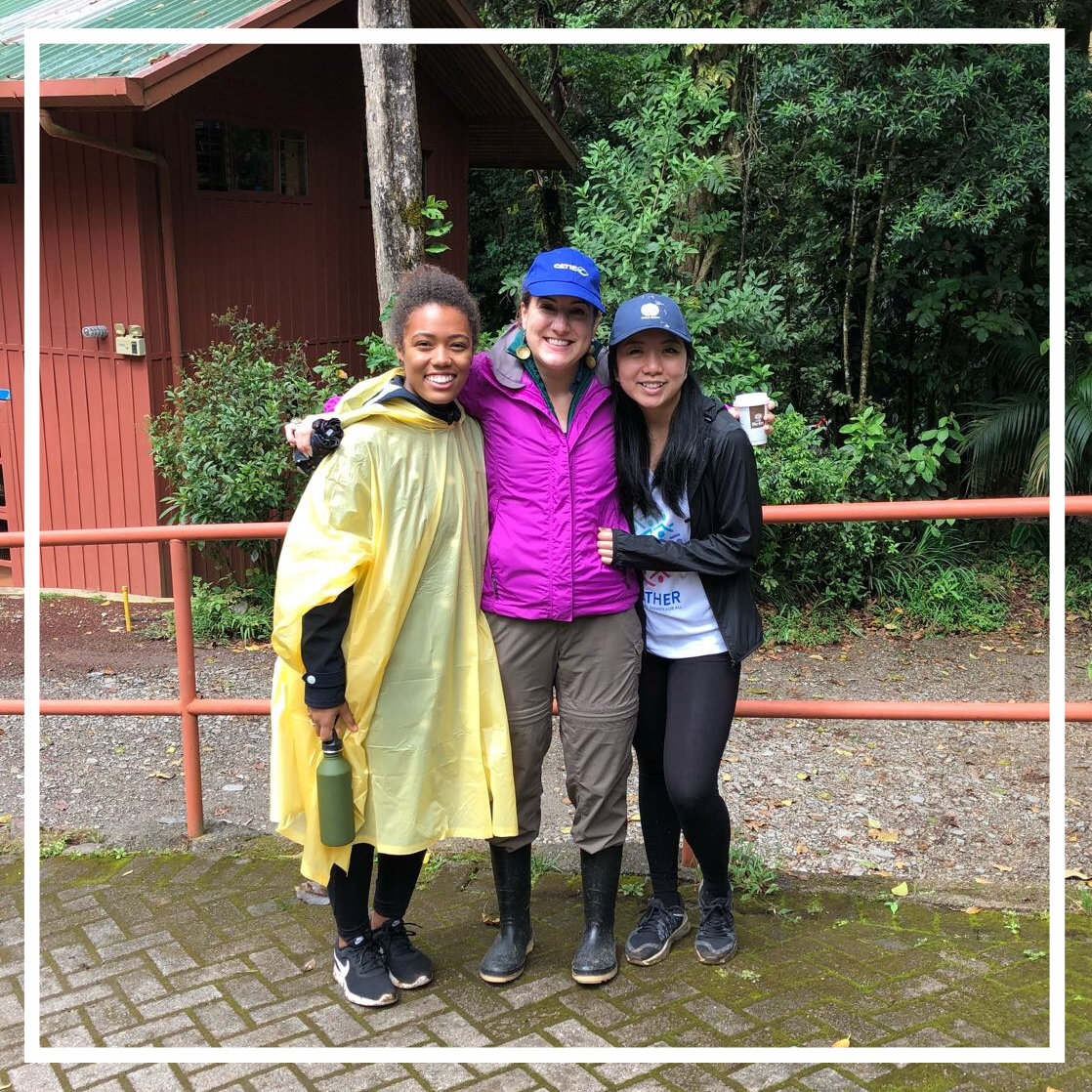 Occidental Students from DWA 201 Visiting Costa Rica