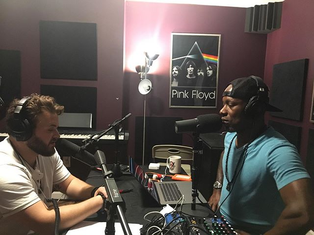 "Great day recording ""Team Room Talk"" podcast with our bro @chrismcpheepmp from @greenberetmedia. @mr.johnschreiner @xeones_bass #dcmusicscene #dmvmusicians #washingtondc #haymarketva #warrentonva #gainesvilleva #rockbanddc #thevoice #podcast #podcastrecording #podcasts #podcastlife #spotifyartist #rockband #teamroomtalk #johnschreiner #bhfyp #music #musicpodcast #podcastinterview #interview #musicislife #pinkfloyd"