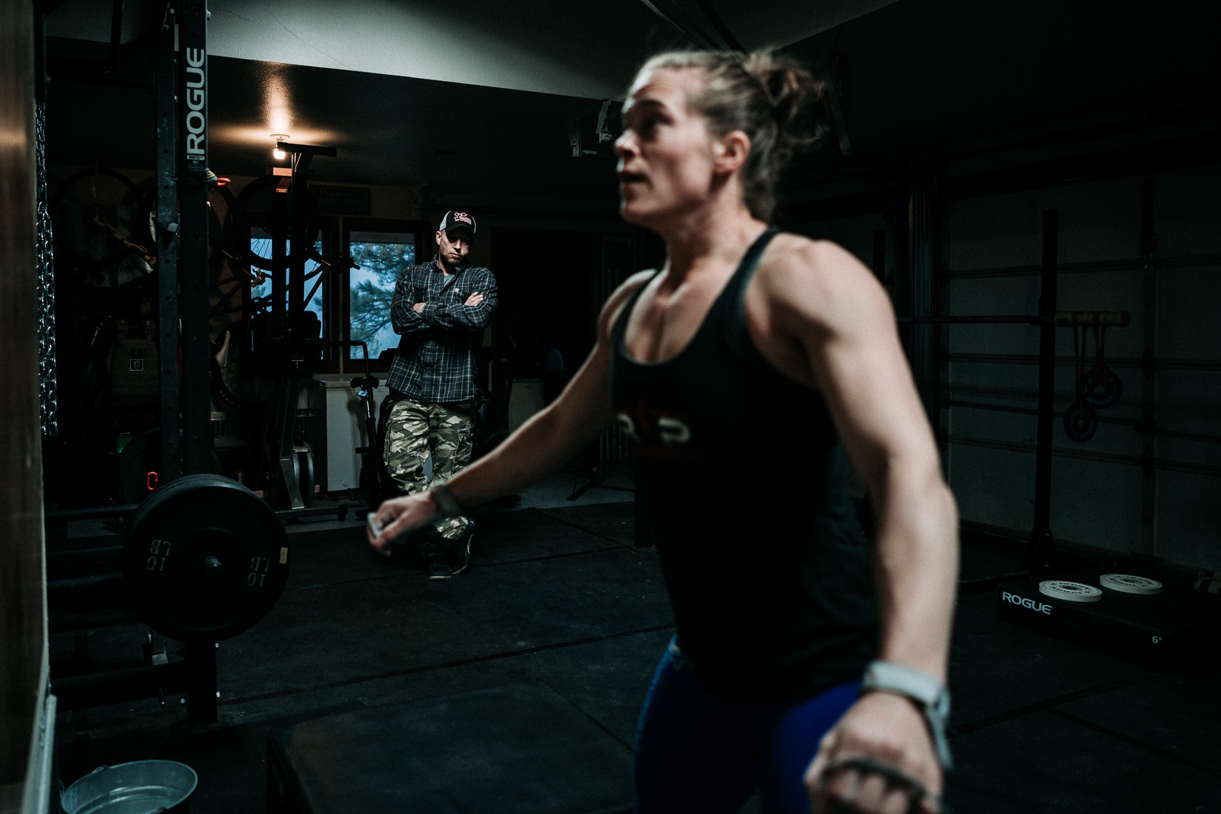 """Through challenging and creative coaching, Tosh provided new perspective on toughness and strengthened my overall confidence…"" - Brista Mayfield, CrossFit Games Athlete"