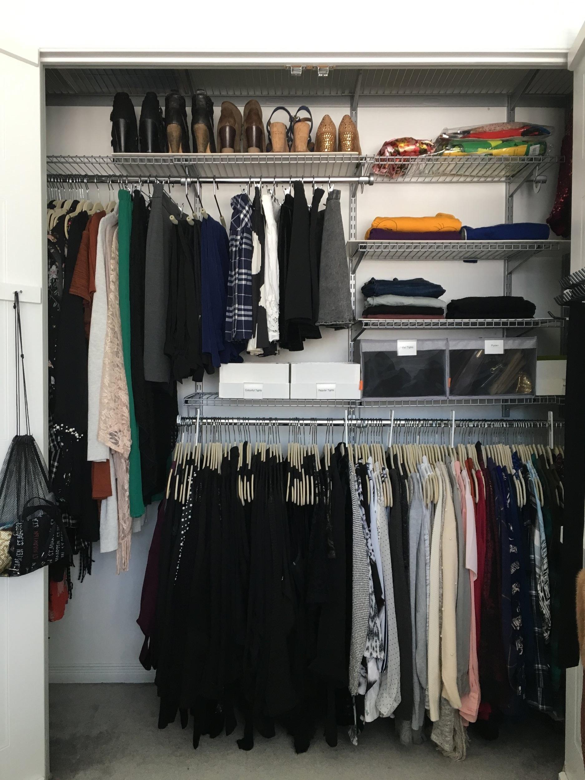 Closet 2: After