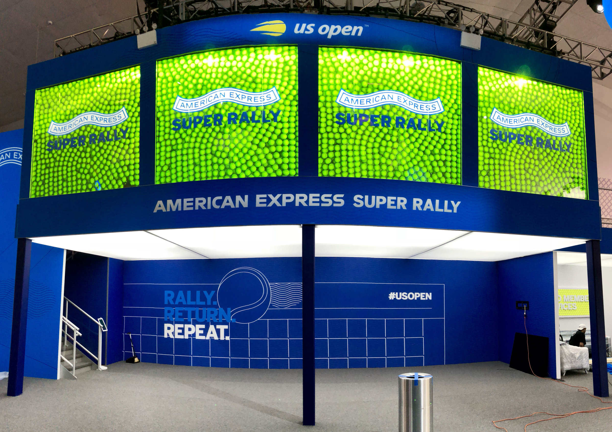 """""""Amex is Upping its Technology Game to Turn Heads at the U.S. Open""""– Adweek -"""