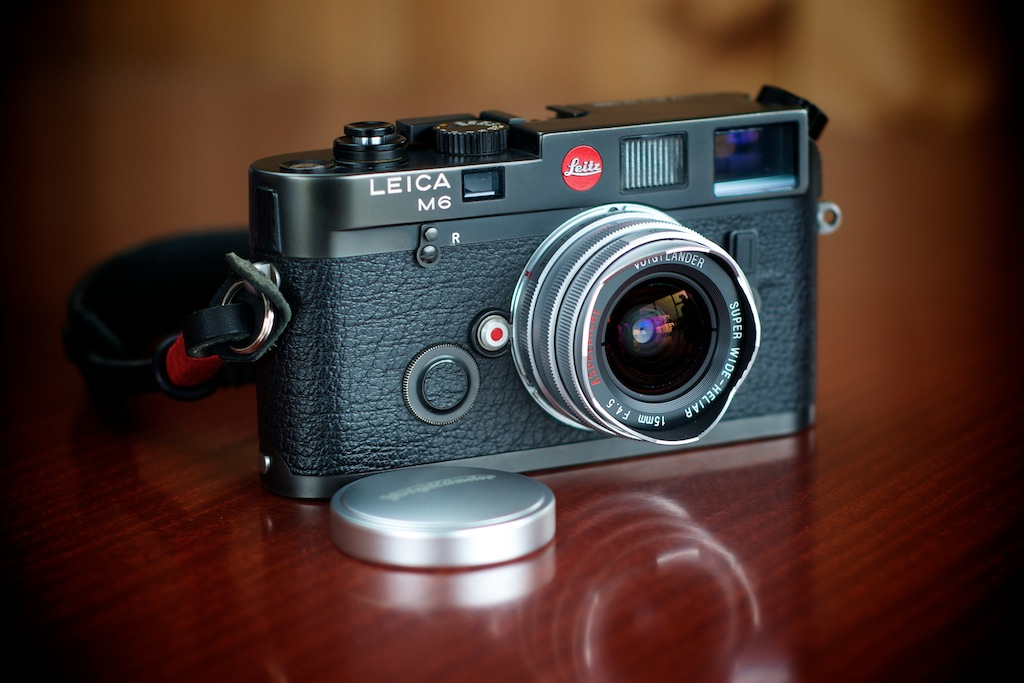 15mm Voigtlander Leica-M6-with-15mm-Voigtlander-Super-Wide-Heliar-f-4.5