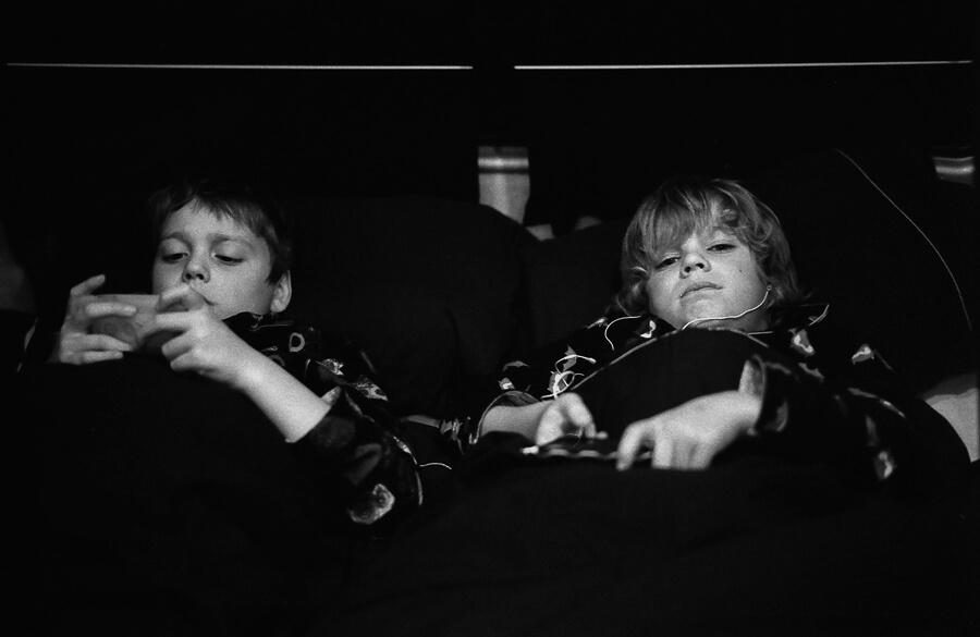 Seeing a way back - bedtime in the camper.jpg