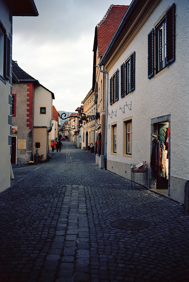 The Reluctant Photographer - Durnstein Cobbled Street.jpg