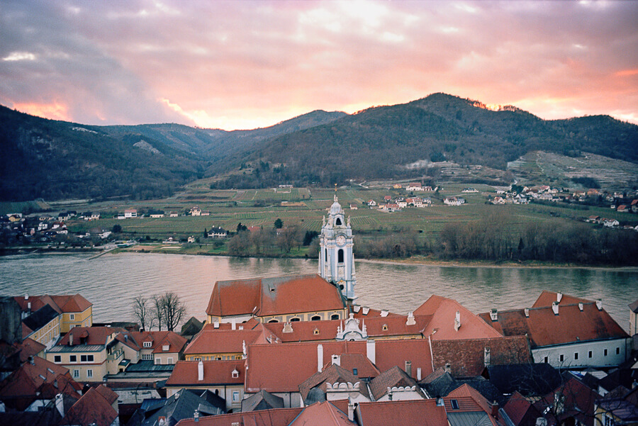 The Reluctant Photographer - Durnstein at Dusk.jpg