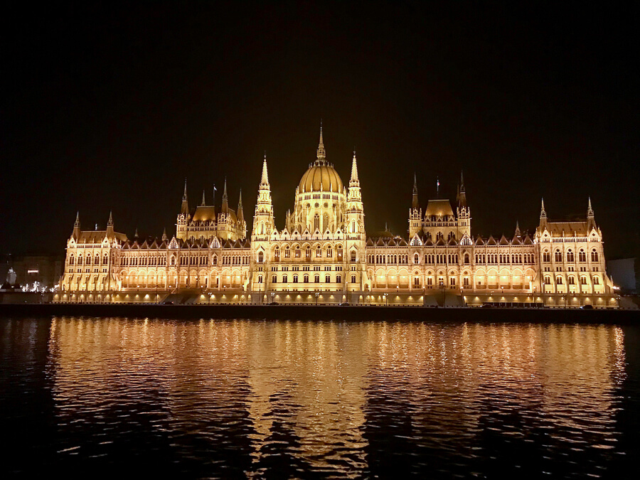 The Reluctant Photographer - Budapest Parliament at Night.jpg
