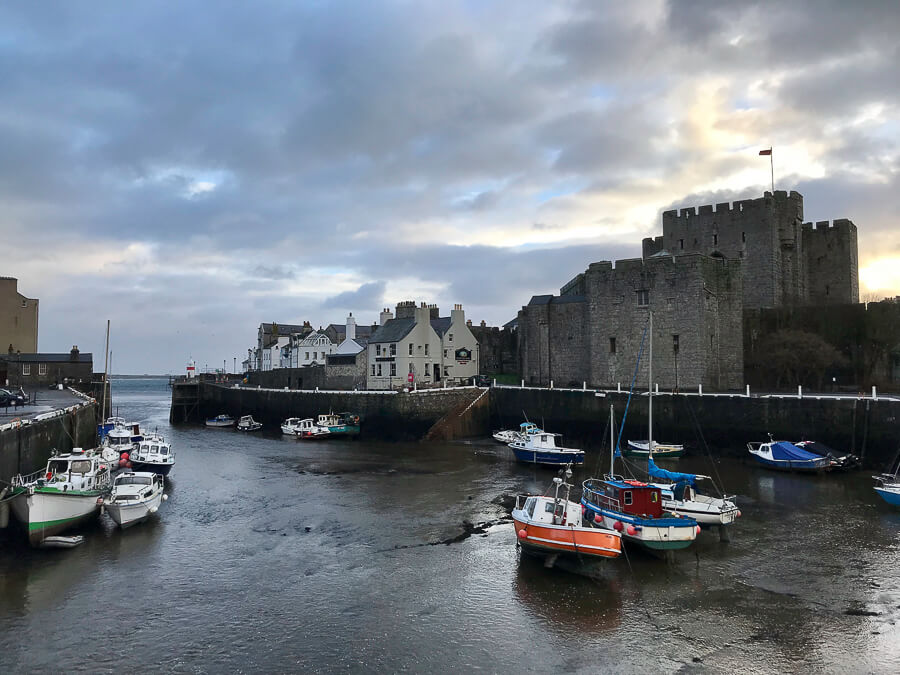 The Reluctant Photographer - Isle of Man Castletown Castle Rushen and Harbour.jpg