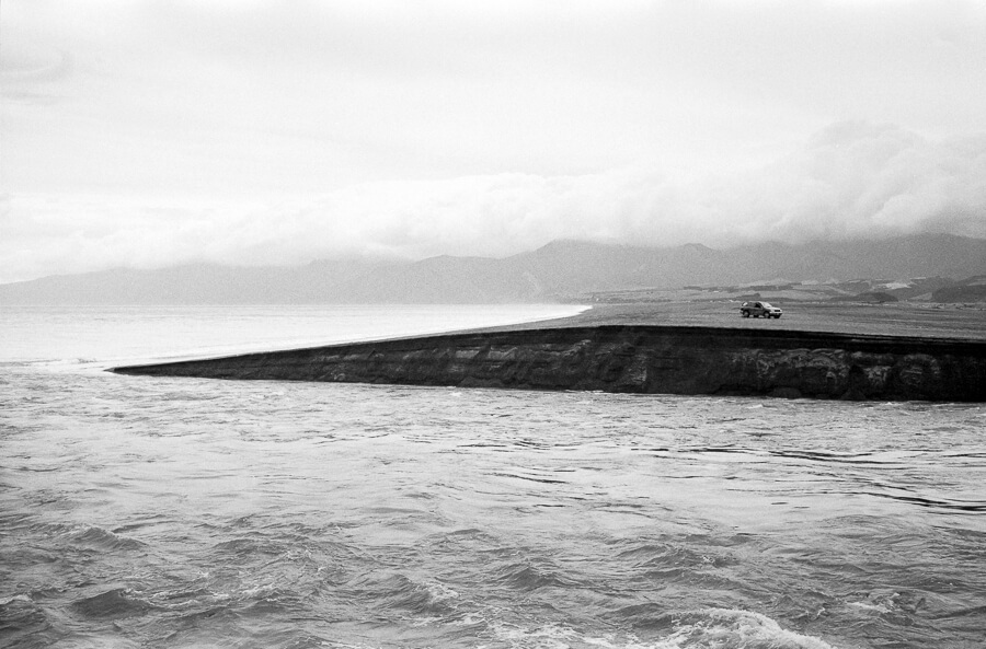 Fuji Neopan 400 - Whitetbaiters view across Lake Ferry Bar.jpg