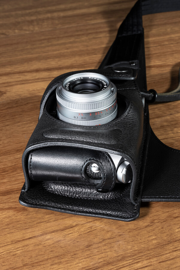 Wotancraft Python Review - Leica Holster Film Camera with Half Case.jpg