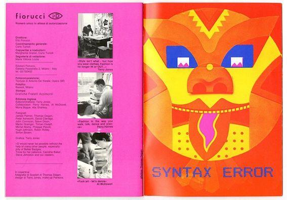 Fiorucci self-published fanzine