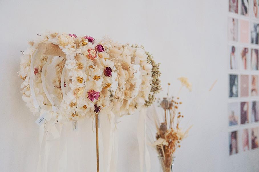 headbands fleuris de Folie Douce flower