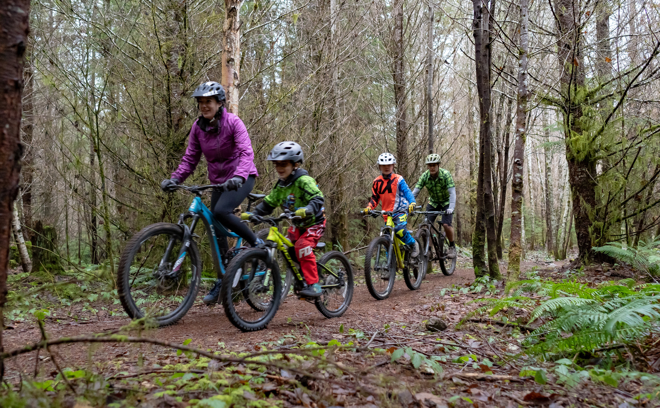 We will build a variety of mountain biking trails for everyone.