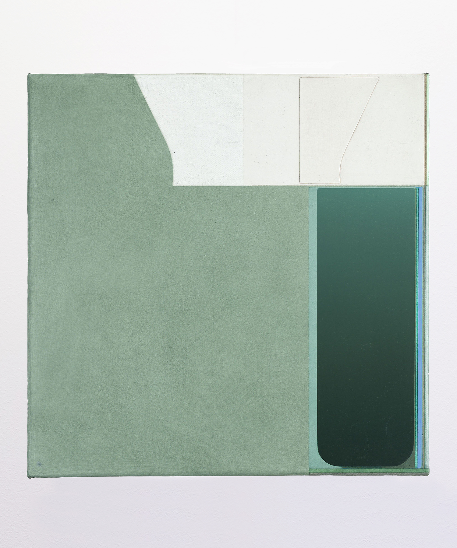 MARIANNE BOESKY GALLERY | NEW YORK + ASPEN SVENJA DEININGER   Untitled , 2019 Oil on canvas 19.74 in x 19.75 in / 50 cm x 50 cm