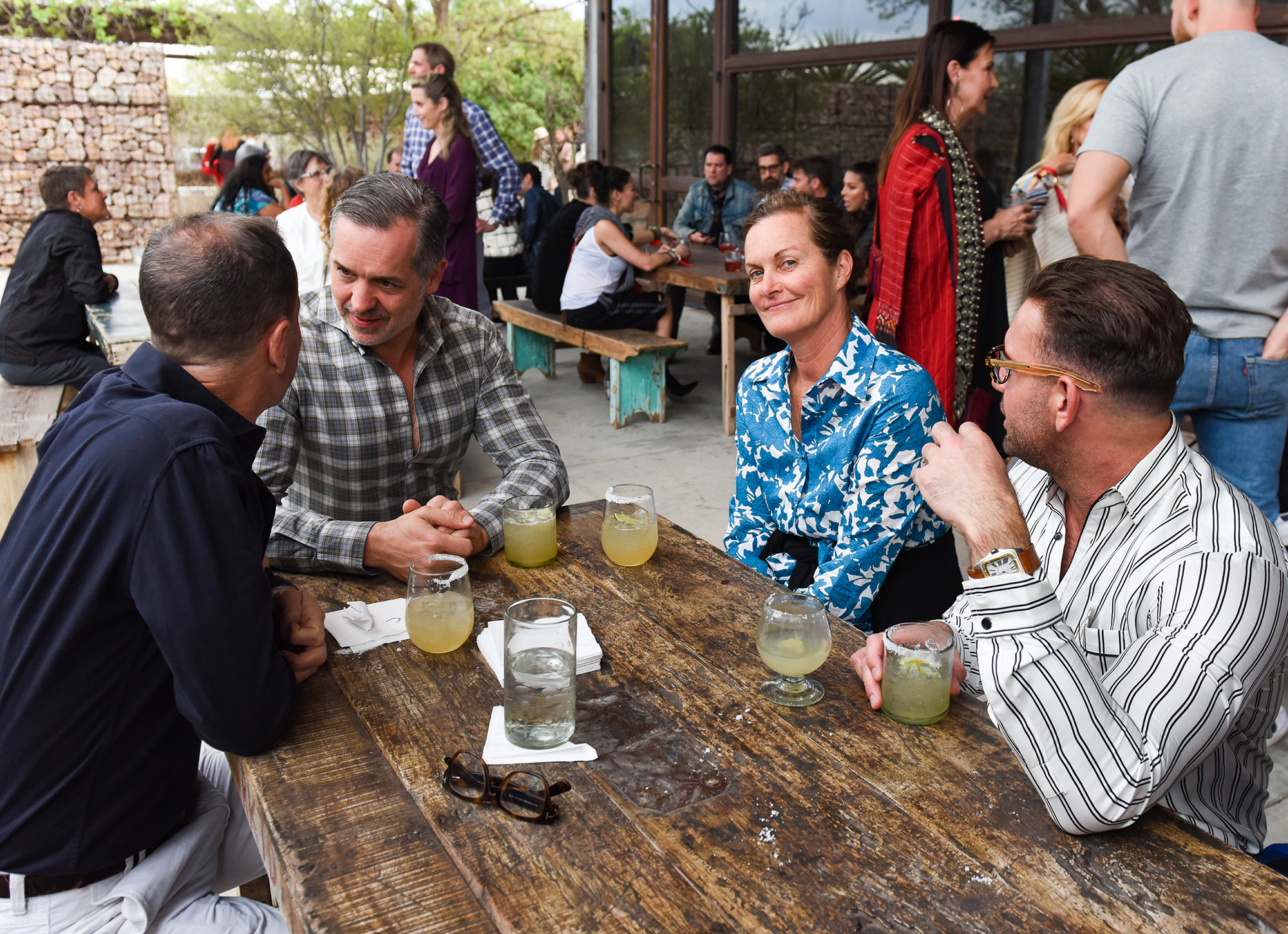 MI COCKTAIL RECEPTION + DINNER | THE CAPRI | MARFA  Jillian Spark