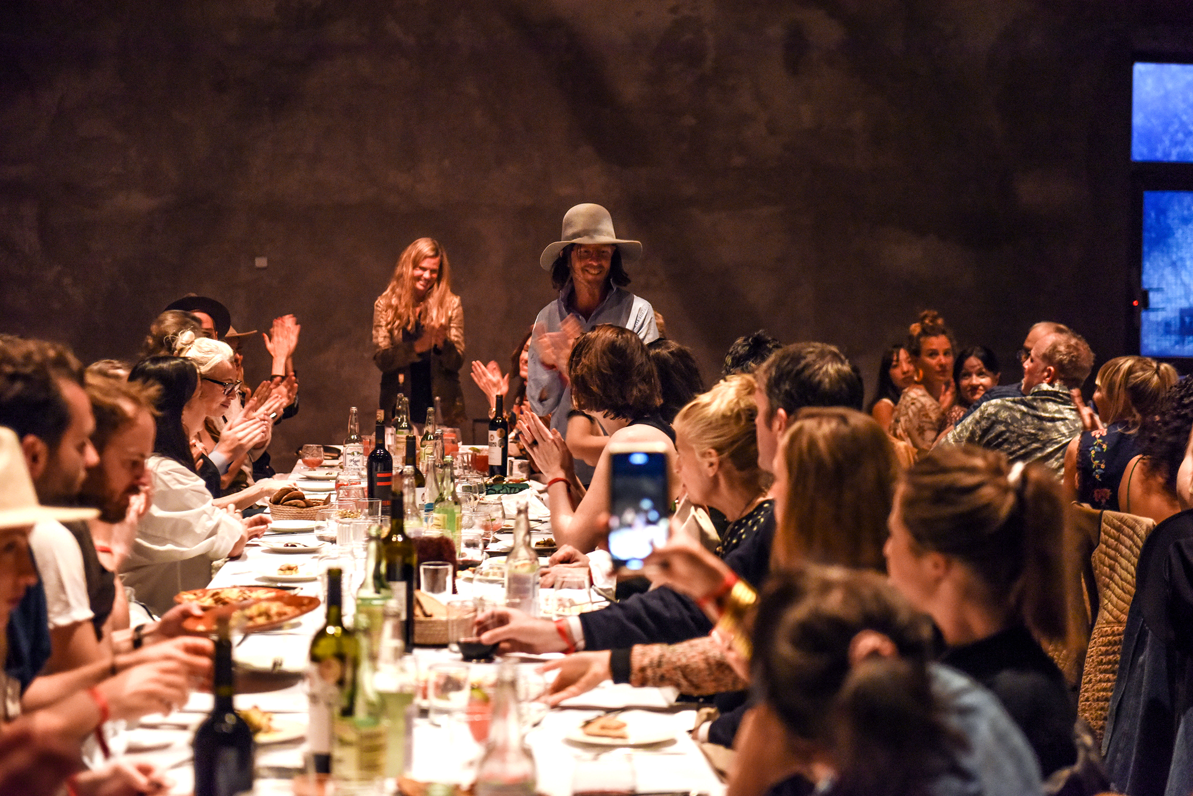 MI COCKTAIL RECEPTION + DINNER   THE CAPRI   MARFA  Kimberly Gould, Michael Phelan