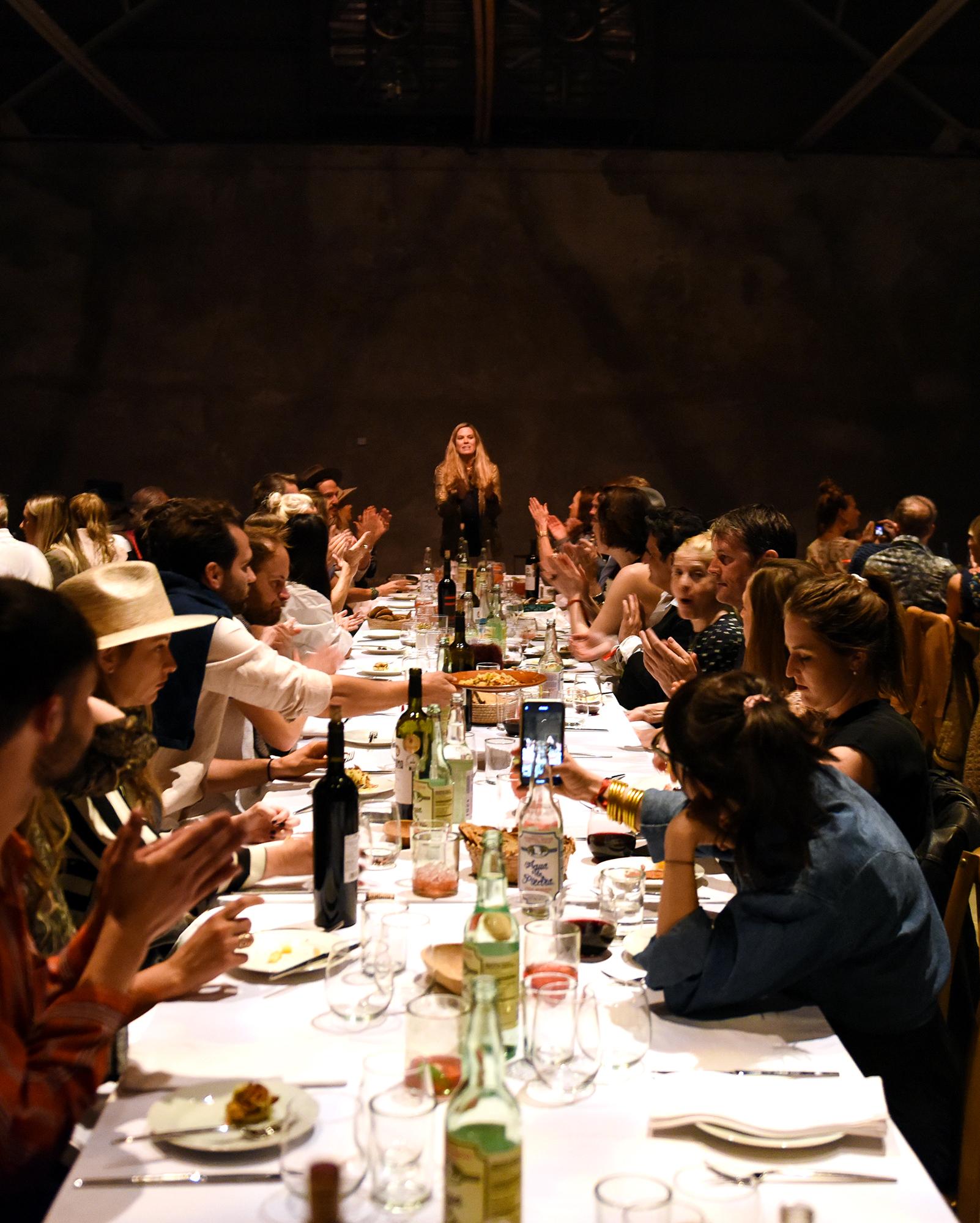 MI COCKTAIL RECEPTION + DINNER   THE CAPRI   MARFA  Kimberly Gould