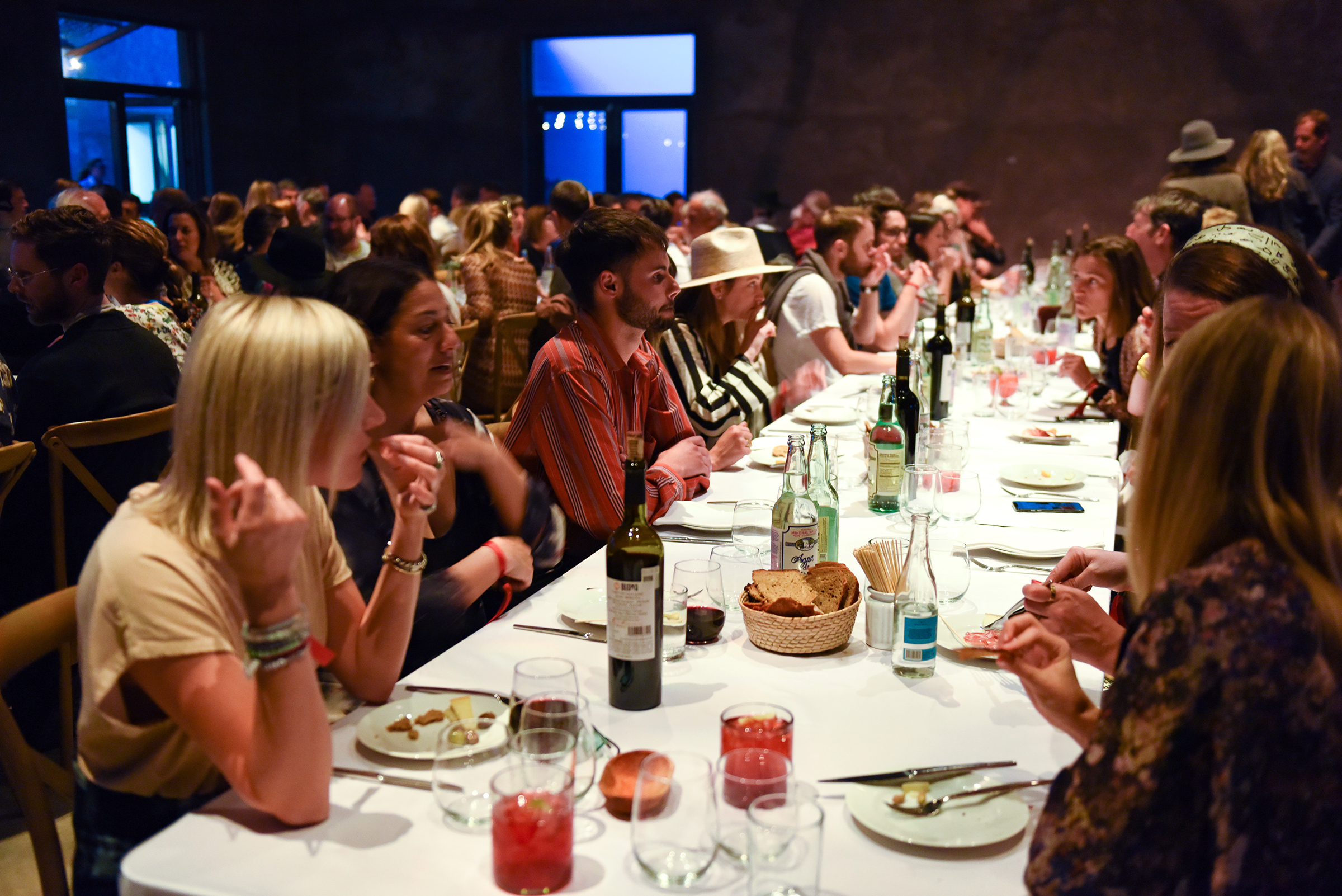 MI COCKTAIL RECEPTION + DINNER   THE CAPRI   MARFA