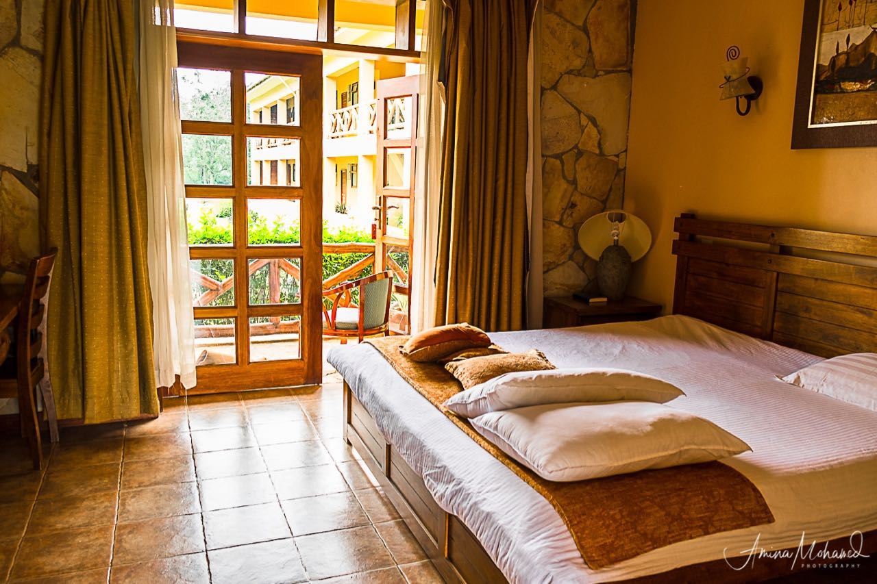 Room at Mountains of the Moon Resort, Fort Portal, Uganda