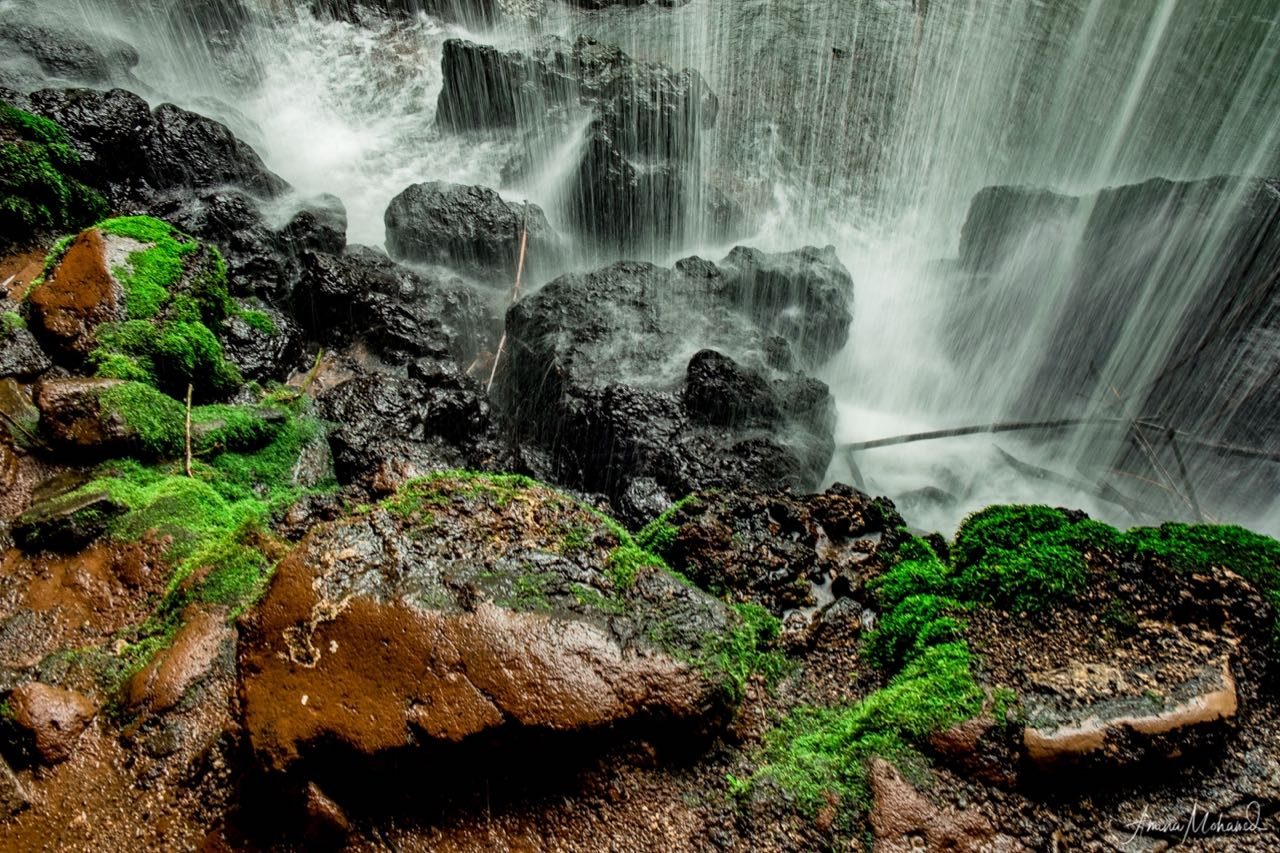 Waterfalls at Amabere Gyanimwaru, Uganda