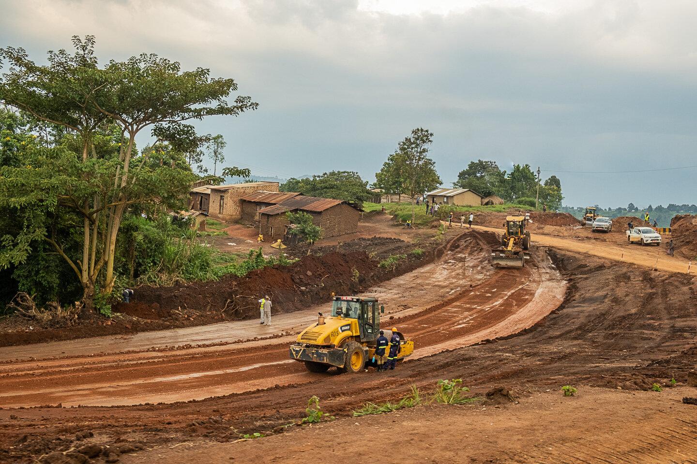 Construction in Uganda