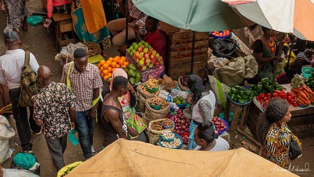 Nakasero Market, Kampala, Uganda @Amina Mohamed Photography