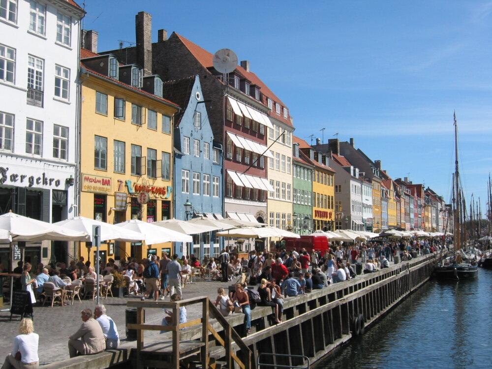 Enjoying the diversity of foods at Nyhavn Harbour in Copenhagen @Amina Mohamed Photography