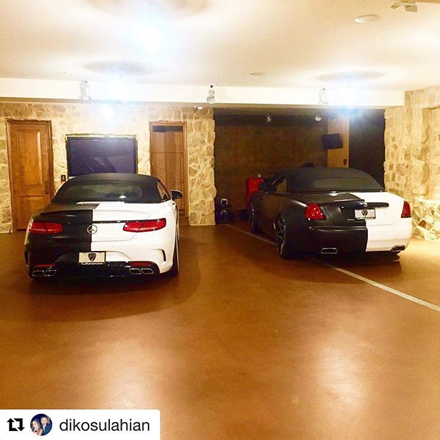 #Repost @dikosulahian ・・・ The dynamic duo !! Love the 2 face theme !! Wrapped by @elevatedautoconcepts #giovannawheels #gianellewheels #gfgwheels #kokokuture #kokosolid #avery #dikodesigns