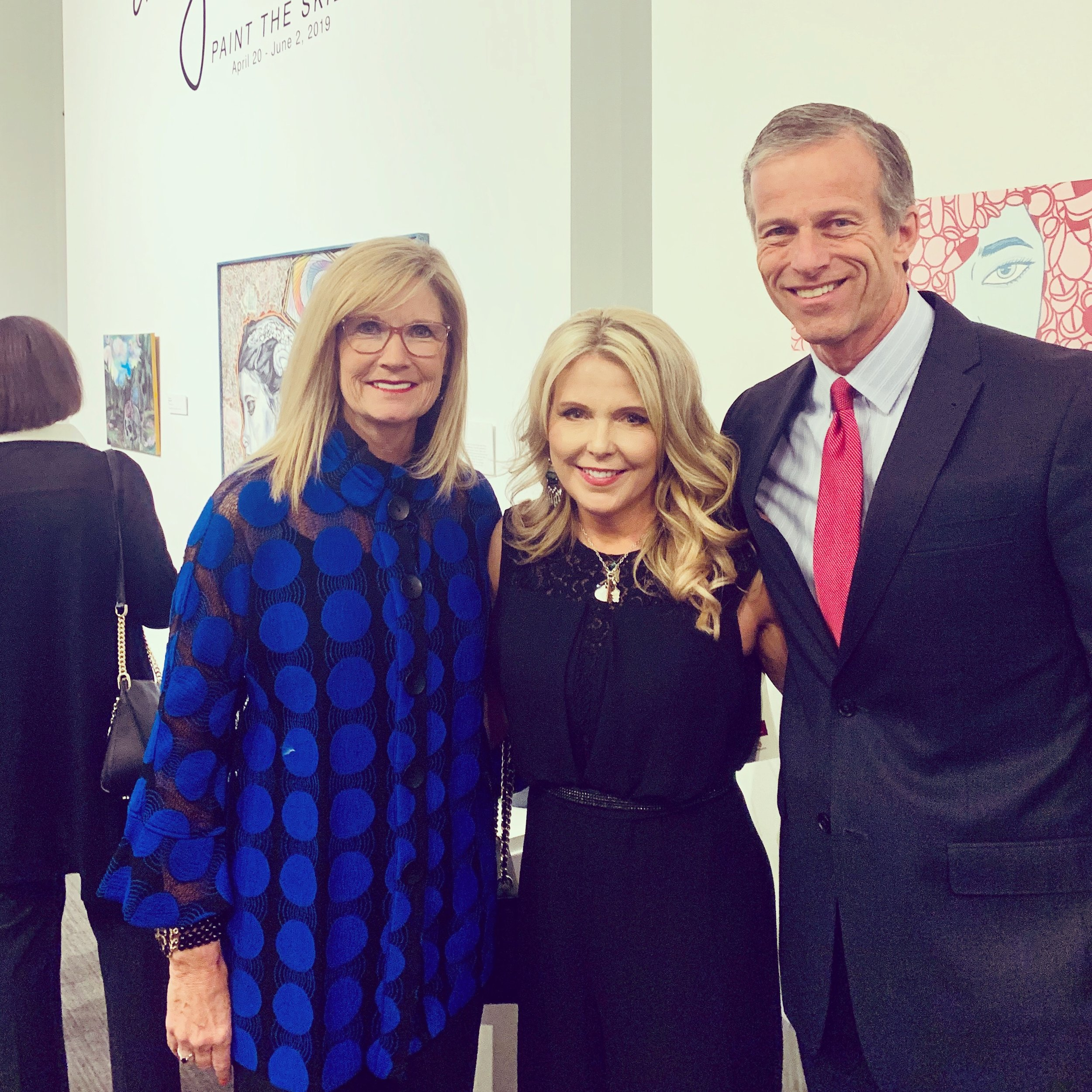 With Senator John Thune & Kimberly Thune