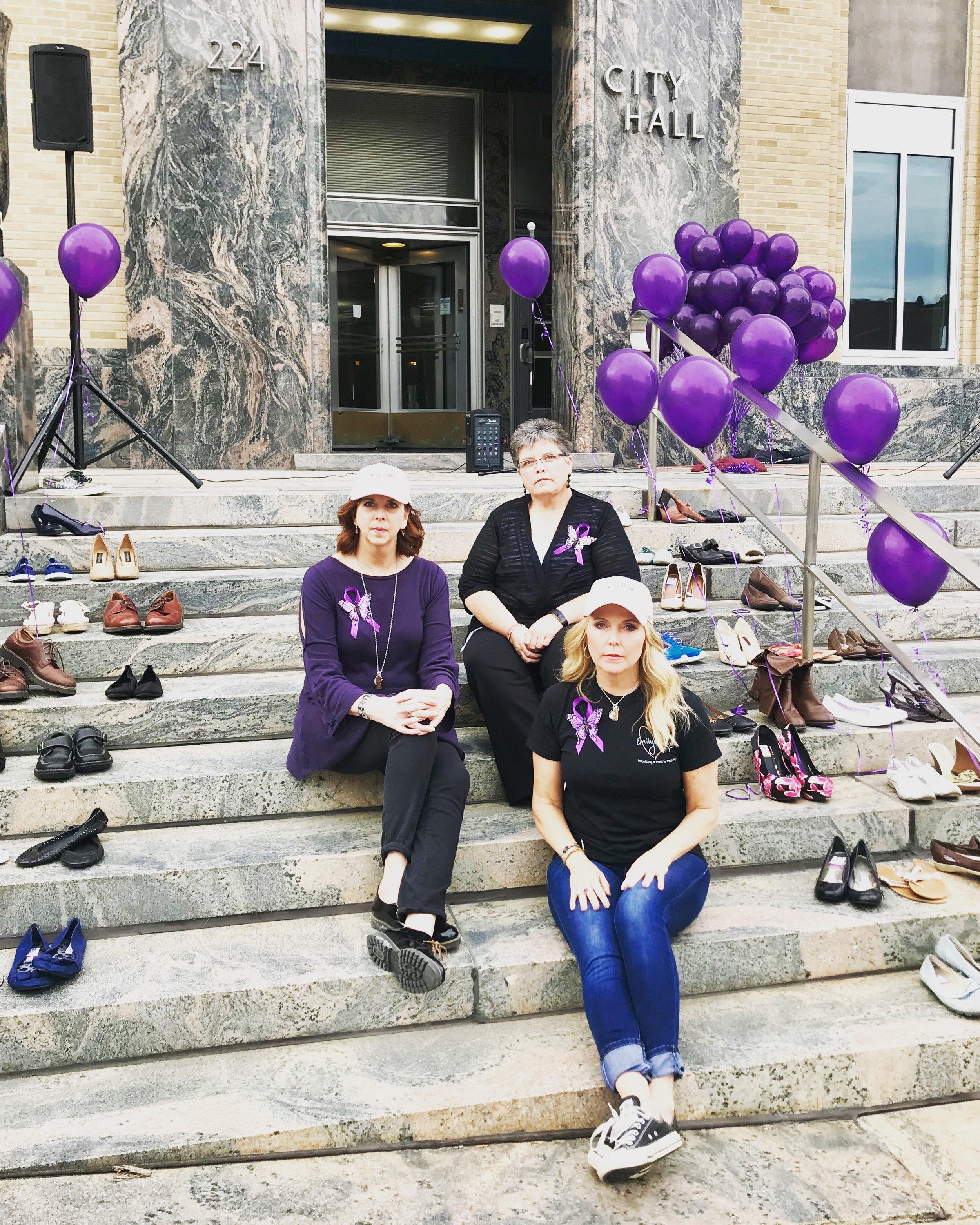 Three moms united - Three children lost to fentanyl poisoning