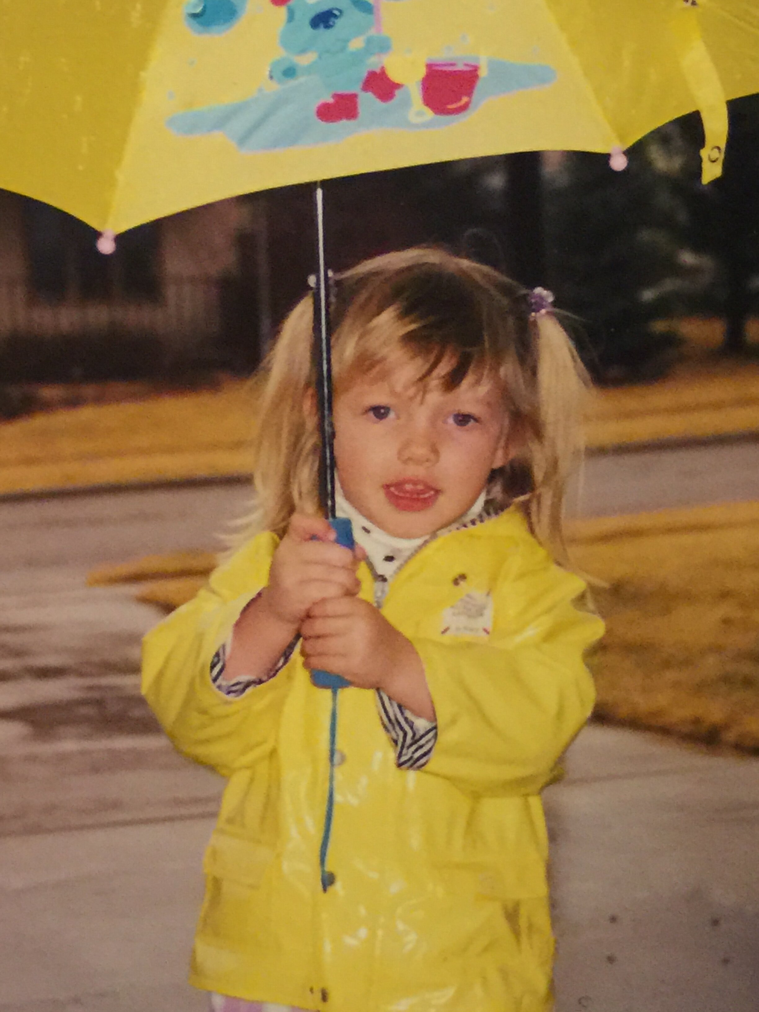 My Blues Clues babe, Emily at age 3.