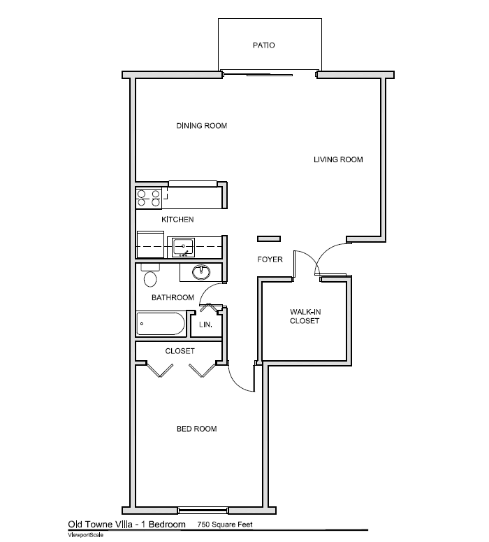 1 bedroom apartment (click to expand)