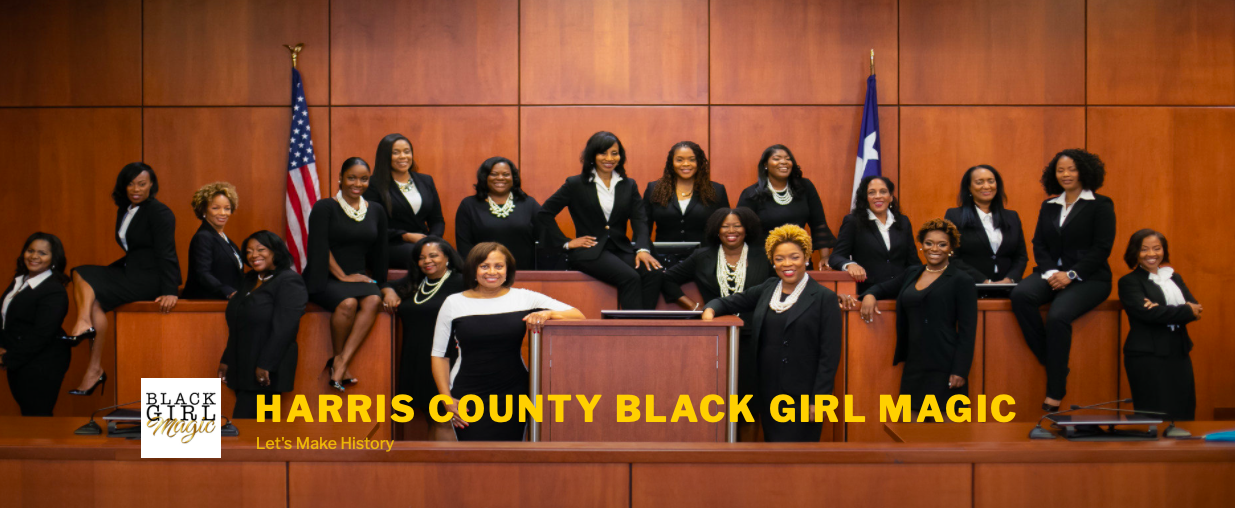 Harris County Black Girl Magic - Congratulations Warriors