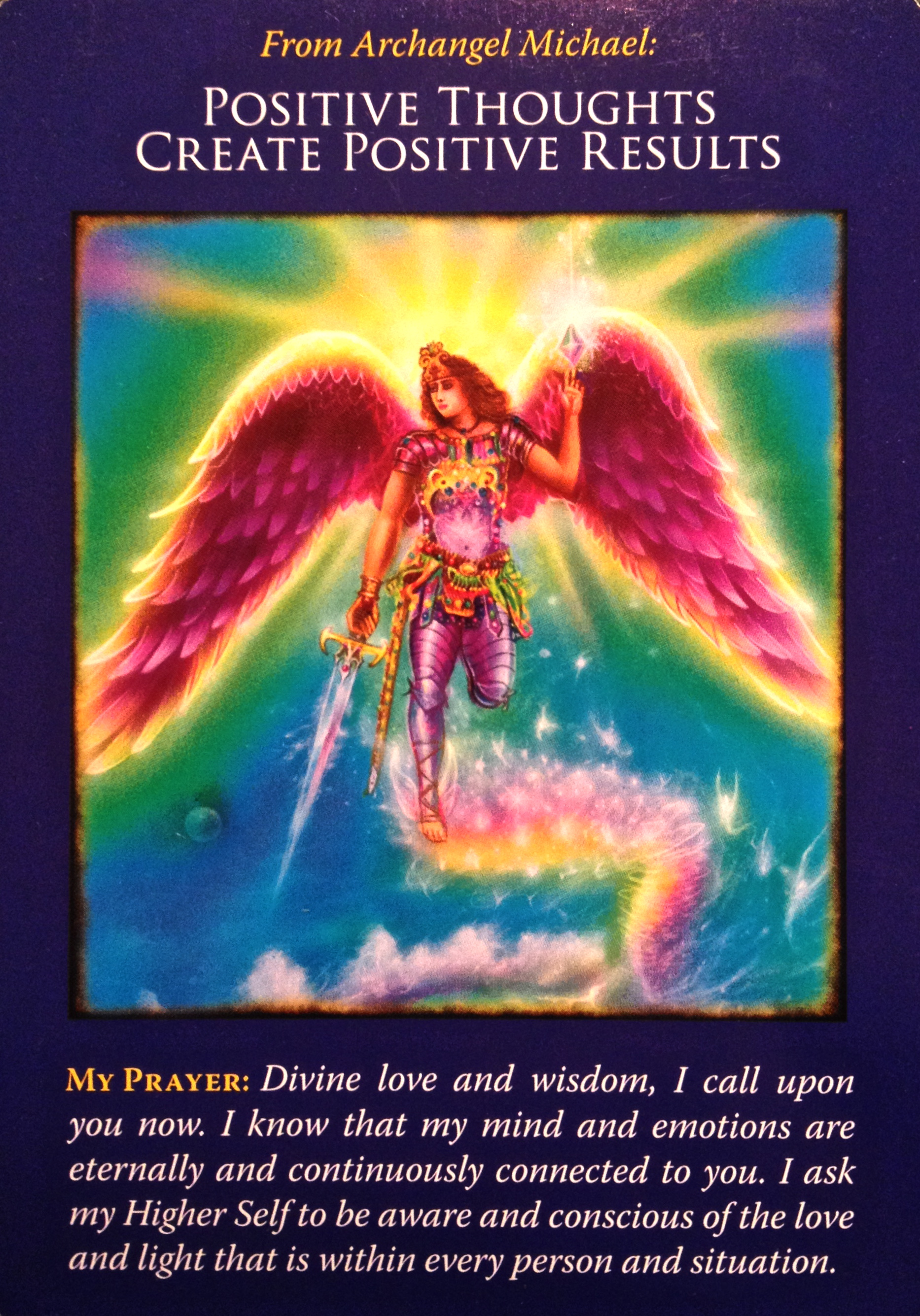 """""""Our Thoughts Create Our Reality"""" ~ Monthly Message from the Angels by Peyton Pugmire, spiritual intuitive and owner of Creative Spirit in Marblehead, MA"""