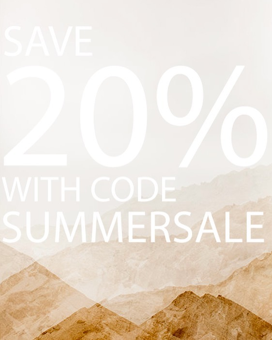 It's here!  Our one and only Summer sale is happening now through midnight tomorrow!!!Save 20% by using code SUMMERSALE at checkout!  We hope your Summer is filled with alllll the good stuff! ☀️💦🍉🍻🏖🏄🏻♀️🚣♂️🍦etc